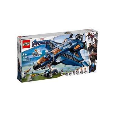 LEGO Marvel Super Heroes - Quinjet dos Vingadores - 76126
