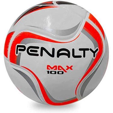 Bola de Futsal Penalty Max 100 X Termotec - Branco e Preto