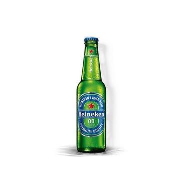Cerveja sem álcool Heineken 00% LN - 330 mL - Nacional