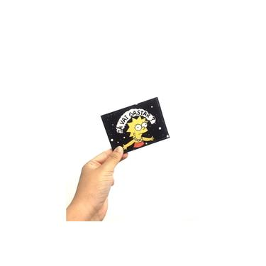 Carteira Slim Lisa Simpson Preto