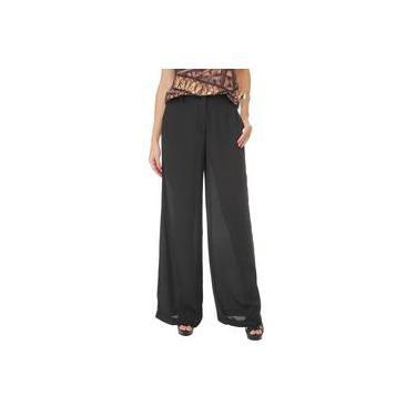 Calça Lez a Lez Pantalona Crepe