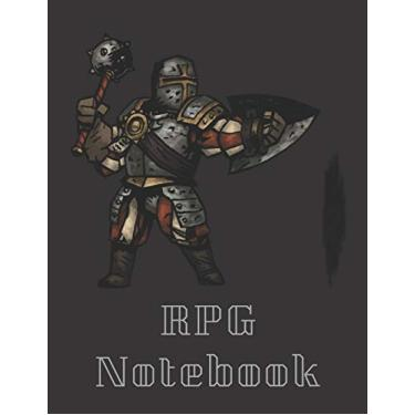 """RPG Notebook: Classes Man At Arms Darkest Dungeon Edition - Mixed paper: Hexagon, Dot Graph, Dot Paper, Pitman: For role playi ng gamers: Notes, ... plans (8.5"""" x 11"""" - A4 Size, 150 Pages)"""
