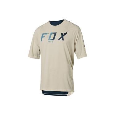 Camisa Fox Legacy Branca Dri-Fit Enduro Motocross Mtb Bmx