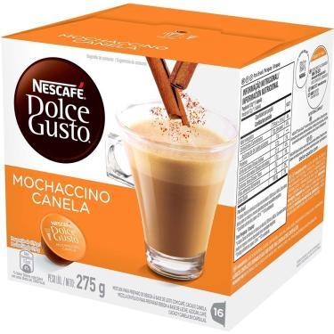 Imagem de Cápsulas de Café Dolce Gusto Mochaccino Canela - Embalagem com 16 Unidades