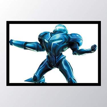Quadro com moldura Metroid Metroid Prime