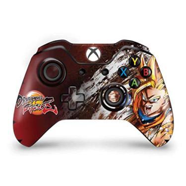 Skin Adesivo para Xbox One Fat Controle - Dragon Ball Fighterz