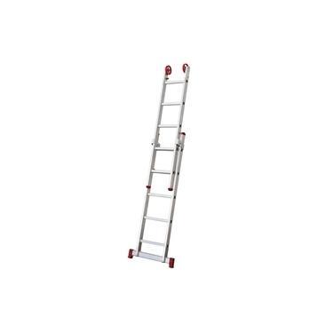 Escada de Alumínio Extensível 5 x 2 Degraus