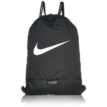 Nike Brasilia Training Gymsack, Black/Black/White, Misc