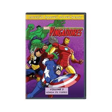 Imagem de DVD Os Vingadores: Os Super-Heróis Mais Poderosos da Terra - Volume 3