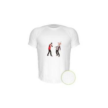 Camiseta Dry-Fit Air The Big Bang Theory Sheldon Estouando Miolos