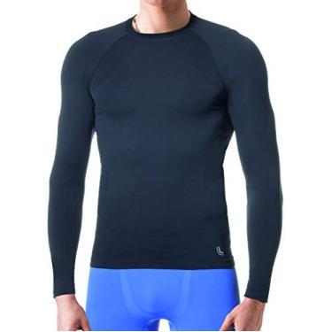 Camiseta Térmica Run, Lupo, Masculino, Preto, M