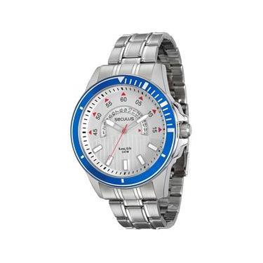 9574f14de40 Relógio de Pulso Seculus Pontofrio - relogios masculino pulso ...