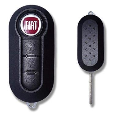 Chave Canivete Positron Inteligente Fiat Redondo
