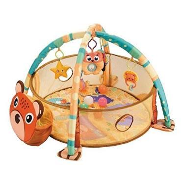 Imagem de Tapete Infantil Atividade 3 em 1 com Piscina de Bolinhas - Importway