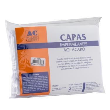 Imagem de Capa Para Travesseiro Algodão com Impermeabilização Intern