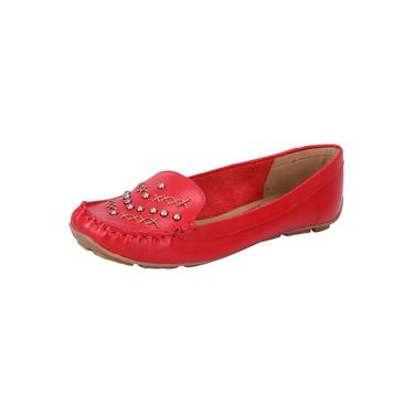 Mocassim Lilly's Closet Smooth Lady Red