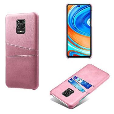 TwiHill a capa de couro para telefone é adequada para Xiaomi Redmi Note 9 Pro / Xiaomi Redmi Note 9S / Xiaomi Redmi 8a / Xiaomi Redmi Note 7 / Xiaomi Redmi Note 8 pro / Xiaomi Redmi K20 Pro, capa para cartão anti-queda, capa de couro (Xiaomi Redmi K20 Pro,rosa ouro)