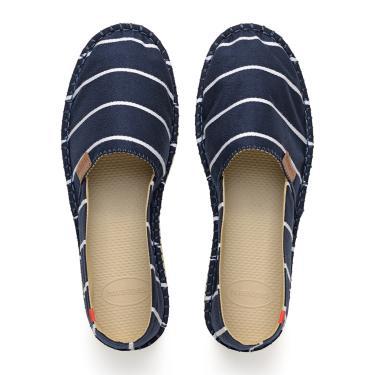 Alpargata Havaianas Stripes Azul  feminino