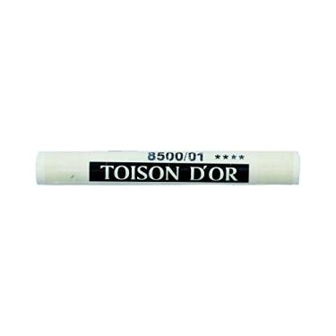 Estojo Giz Pastel Seco Soft Pastels Koh-I-Noor Toison D'or - Titanium White 12 unidades - 8500/1