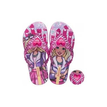 Chinelo Infantil Ipanema Barbie Princesa - Super Macio