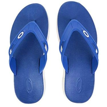 Chinelo Oakley Rest 2.0 10193Br-68C, 38, Saphire