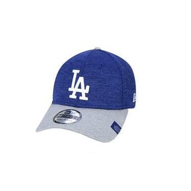 Boné New Era 39 Thirty Los Angeles Dodgers - Azul e Cinza