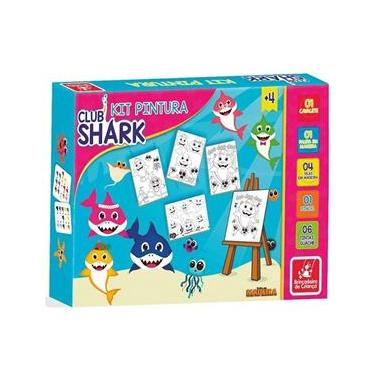 Imagem de Kit Pintura CLUB SHARK Brincadeira de Criança 2284