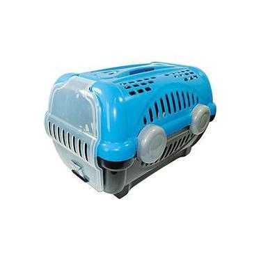 Caixa de Transporte Luxo Furacão Pet Nº1 Azul