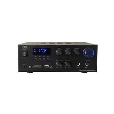 Mini Amplificador Stereo 30W C/Usb, Cartão De Memória Sd, Rádio Fm, Aux E Bluetooth Sumay Sm-Ap204