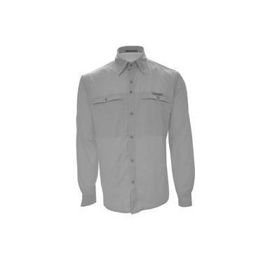 Guepardo VB1300 Camisa Masculina Trek Fish Gelo Tamanho GG