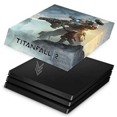 Capa Anti Poeira para PS4 Pro - Titanfall 2#a