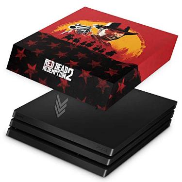 Capa Anti Poeira para PS4 Pro - Red Dead Redemption 2