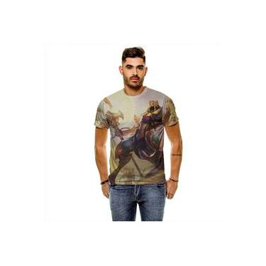 Camiseta League Of Legends Azir Imperador Das Areias Masculina Slim