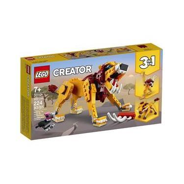 Imagem de Lego Creator 31112 - Modelo 3 Em 1 - Leão Selvagem
