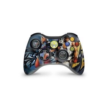 Skin Adesivo Para Xbox 360 Controle - Street Fighter 4 #b