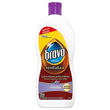 Lustra Móveis Bravo Lavanda 200 ml