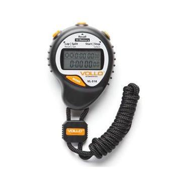 a808251cd62 Cronômetro Profissional C  10 Memórias Alarme e Relógio - VOLLO VL-510