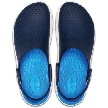 Sandália Crocs Literide Clog Azul  unissex