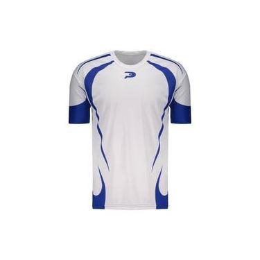 Camisa Placar Carijó Branca E Azul