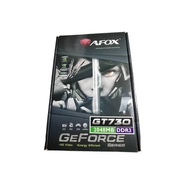 Imagem de Placa de Vídeo NVIDIA GeForce GT730 2GB DDR3 128 Bits Low Profile Afox - AF730-2048D3L4-V1