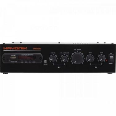 Amplificador 100WRMS com Bluetooth Versatil PRO-620 Hayonik