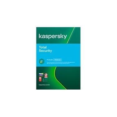 Kaspersky Antivírus Total Security 2020 Multidispositivos 1 PC - Digital para Download