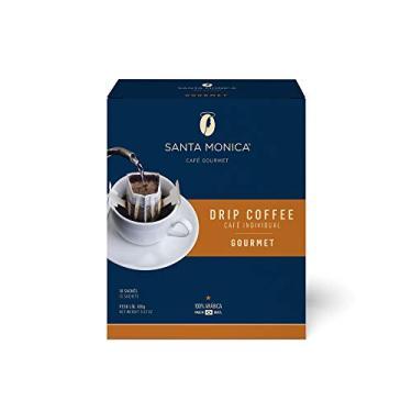 Drip Coffee Gourmet Display Cafe Santa Monica com 10 Unidades