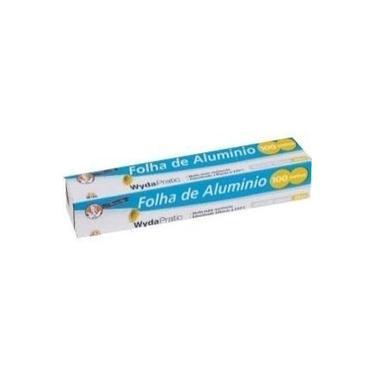 Papel Alumínio 30x100 Wyda 300381
