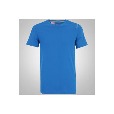 c9d143703d0 Camiseta Reebok EL Classic - Masculina - AZUL CINZA Reebok