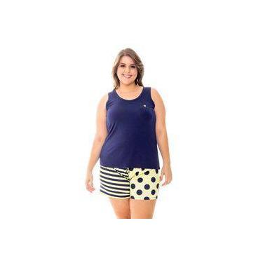 Pijama Feminino Recco Baunilha Viscose 09535