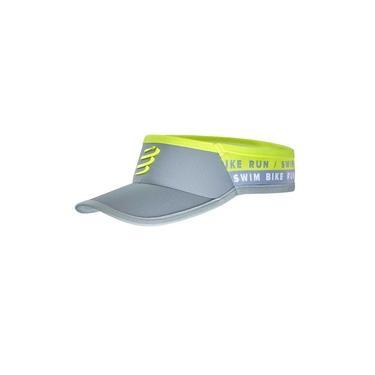 Viseira Ultralight - Swim-Bike-Run Cinza (Ed. Limitada)