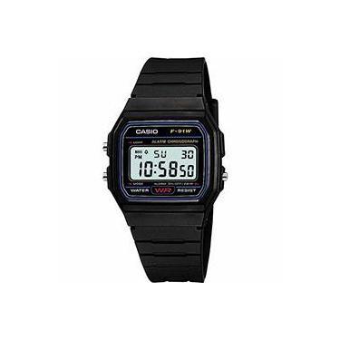 6a7f502e633 Relógio Masculino Casio Digital Esportivo F-91W-1DG
