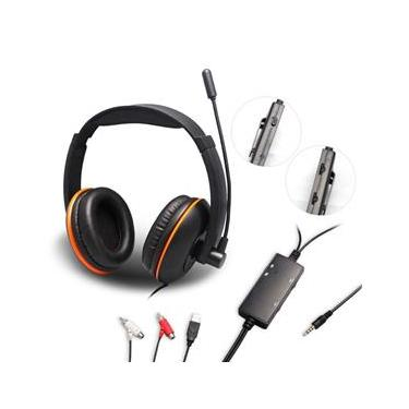 Fone Headset Gamer Wearing Stereo 5 IN 1 | PS3 / Xbox 360 / PS4 / Xbox One / PC / MAC