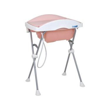 Banheira de Bebê Burigotto com Suporte e Trocador - Tchibum Dobrável 1